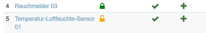 orange open lock symbol